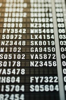 Flights operated by iBid are delayed